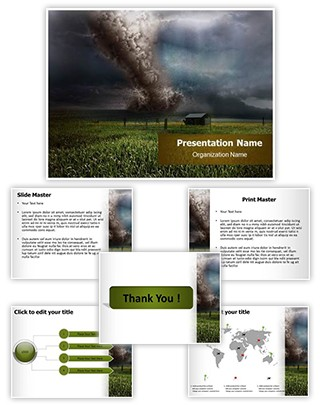 Storm Editable PowerPoint Template