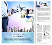 Hytech Businessman Template