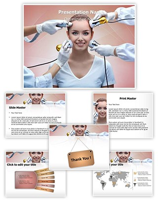 Cryolifting Mesotherapy Editable PowerPoint Template