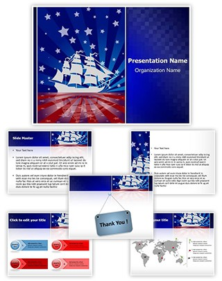 Columbus Day Editable PowerPoint Template