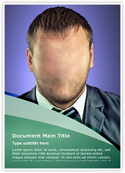 Manager Hidden Identity Editable Word Template