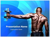 Body Builder Editable PowerPoint Template