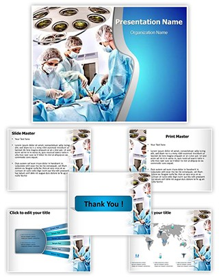 Surgery Room Editable PowerPoint Template