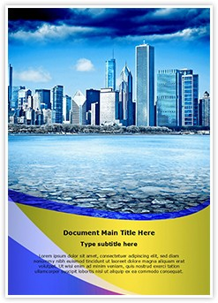 Business Town Editable Word Template