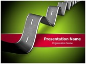 Tough Road Ahead Editable PowerPoint Template