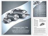 Electric motors Template