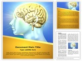 Human Brain Editable Word Template