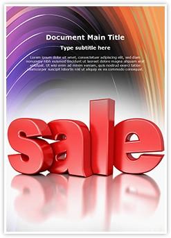 Sales Editable Word Template