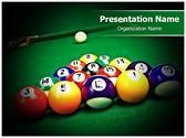 Billiard Table Editable PowerPoint Template