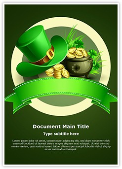 St Patricks Day Editable Word Template