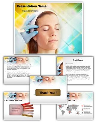 Botox Editable PowerPoint Template