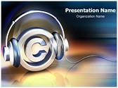 Copyright Music Editable PowerPoint Template