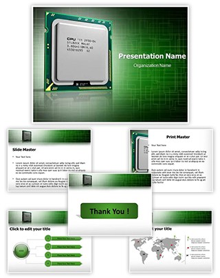 Cpu Editable PowerPoint Template