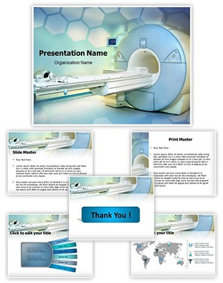 Medical Imaging Editable PowerPoint Template