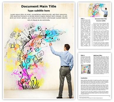 Creative Thinking Editable Word Document Template