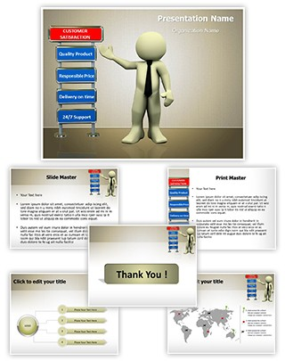 Customer Satisfaction Editable PowerPoint Template