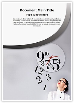 Time Management Editable Word Template