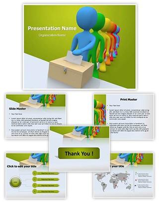 Democracy Editable PowerPoint Template