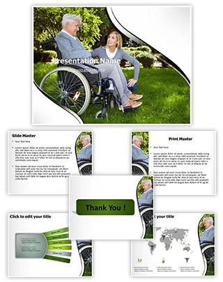 Disability Editable PowerPoint Template