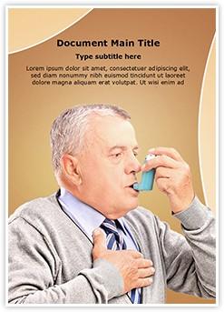 Asthma Inhaler Treatment Editable Word Template
