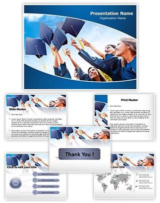 Graduation Editable PowerPoint Template