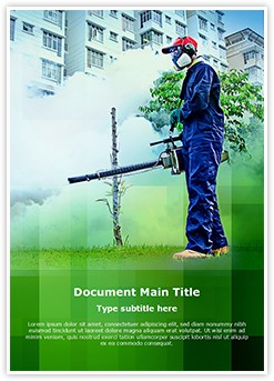 Environmental Health Editable Word Template