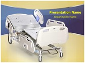 Hospital Stretcher PowerPoint Templates