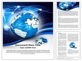 Globe Puzzle Template