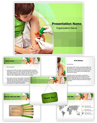 Antiseptic Editable PowerPoint Template