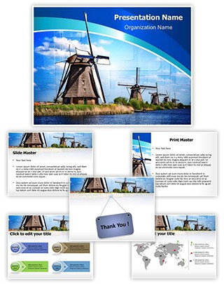 Windmill Editable PowerPoint Template