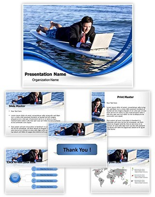 Flexible Working Environment Editable PowerPoint Template
