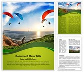 Paragliding Training Template