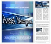 Asset Management Editable Word Template