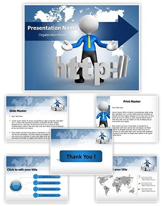 Http Editable PowerPoint Template