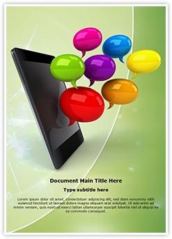 Smartphone Editable Word Template