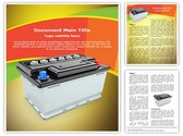 Car Battery Template
