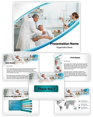 Intensive Care Editable PowerPoint Template