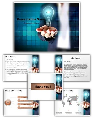 New Business Idea Editable PowerPoint Template