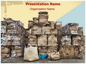 Paper Recycling Stock Editable PowerPoint Template