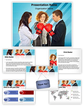 Arbitration Editable PowerPoint Template