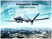 Drone Aircraft Editable PowerPoint Template