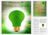 Renewable Green Energy Editable Word Template