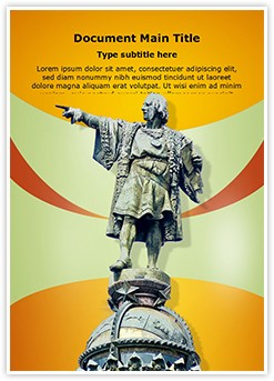 Christopher Columbus Editable Word Template