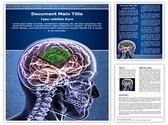 Brain Biochip Editable Word Template