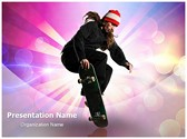 Skateboarding Editable PowerPoint Template