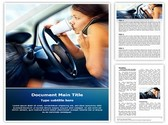Distracted Driving Template
