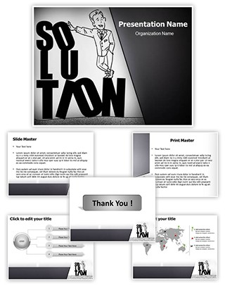 Solution Editable PowerPoint Template