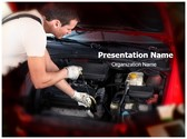 Auto Repair Editable PowerPoint Template