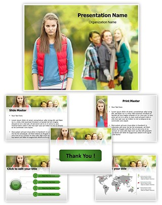 Bullying Editable PowerPoint Template