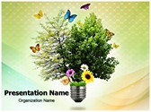 Environmental Energy Editable PowerPoint Template